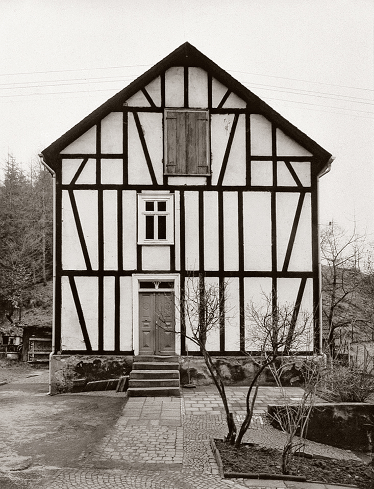 no text Bernhard and Hilla Becher-Half-Timbered Houses -2003 Poster